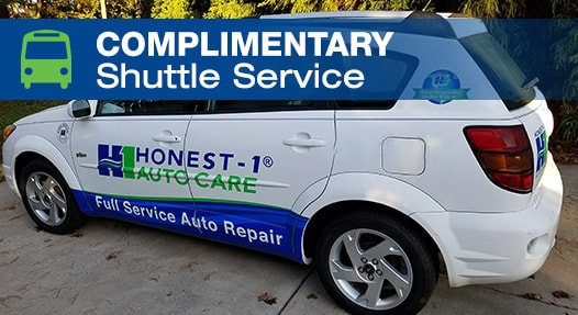 Complimentary Local Shuttle Service | Honest-1 Auto Care Mooresville